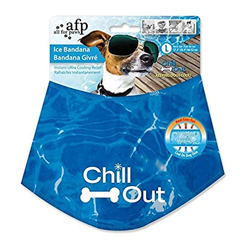 ALL FOR PAWS Chill Out Ice Bandana, Large von ALL FOR PAWS