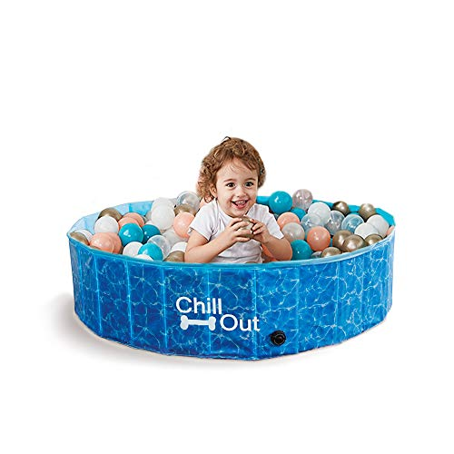 ALL FOR PAWS 8002 Chill Out - Splash und Fun - Hundepool groß - 160 cm von ALL FOR PAWS