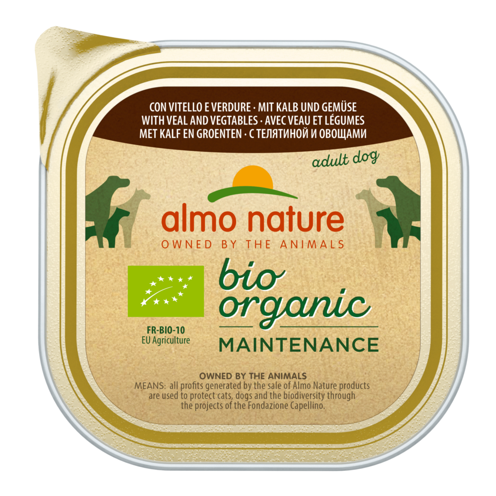 Almo Nature BioOrganic Maintenance 27 x 300 g - mit Kalb & Gemüse von Almo Nature Daily Menu