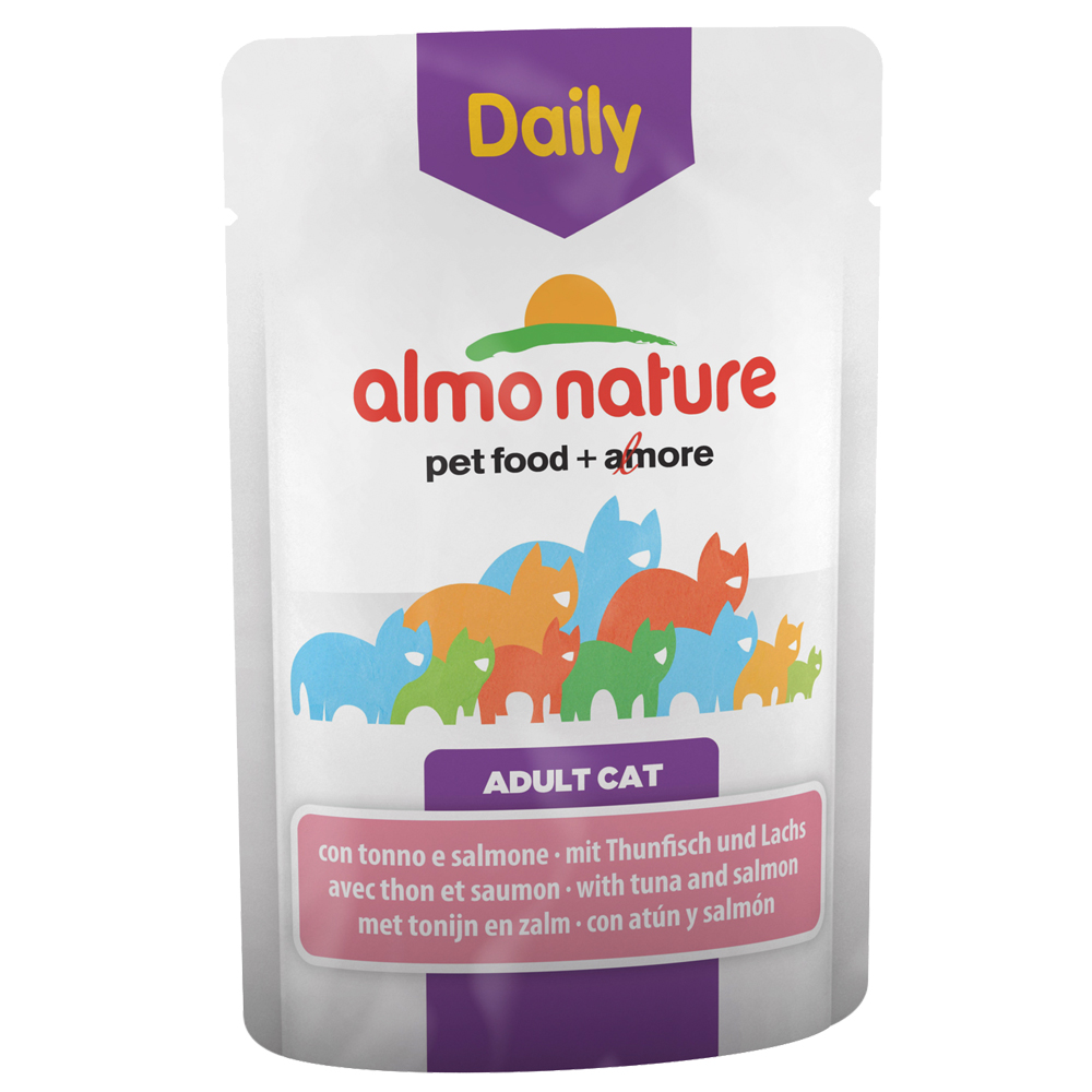 Sparpaket Almo Nature Daily Menu Pouch 12 x 70 g - Mix II (2 Sorten) von Almo Nature Daily Menu