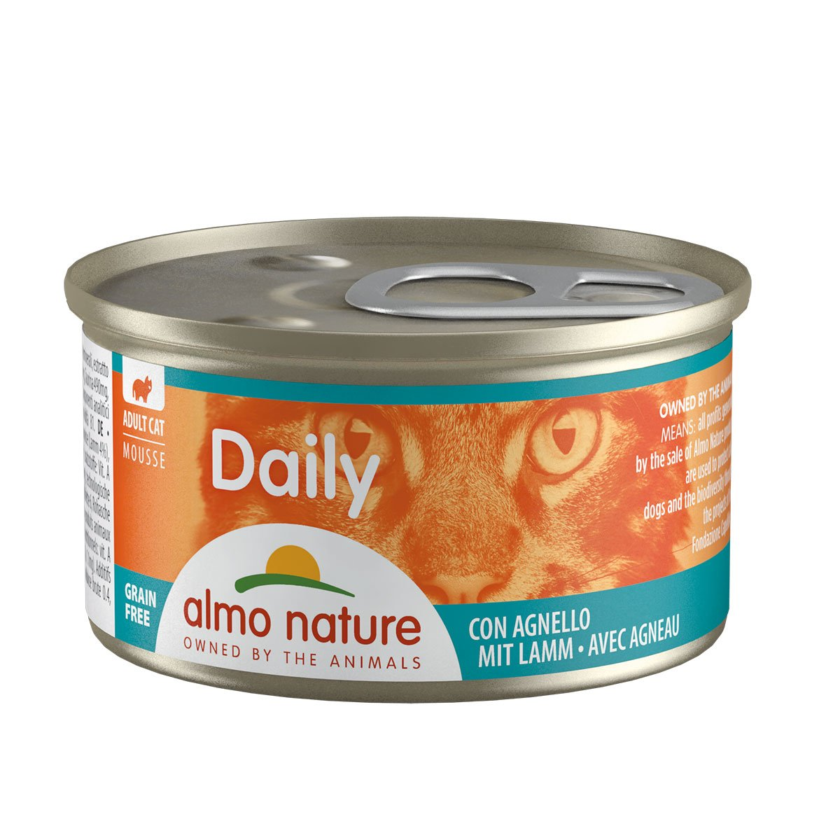 Almo Nature Daily Menü 24x85g Mousse Lamm von Almo Nature