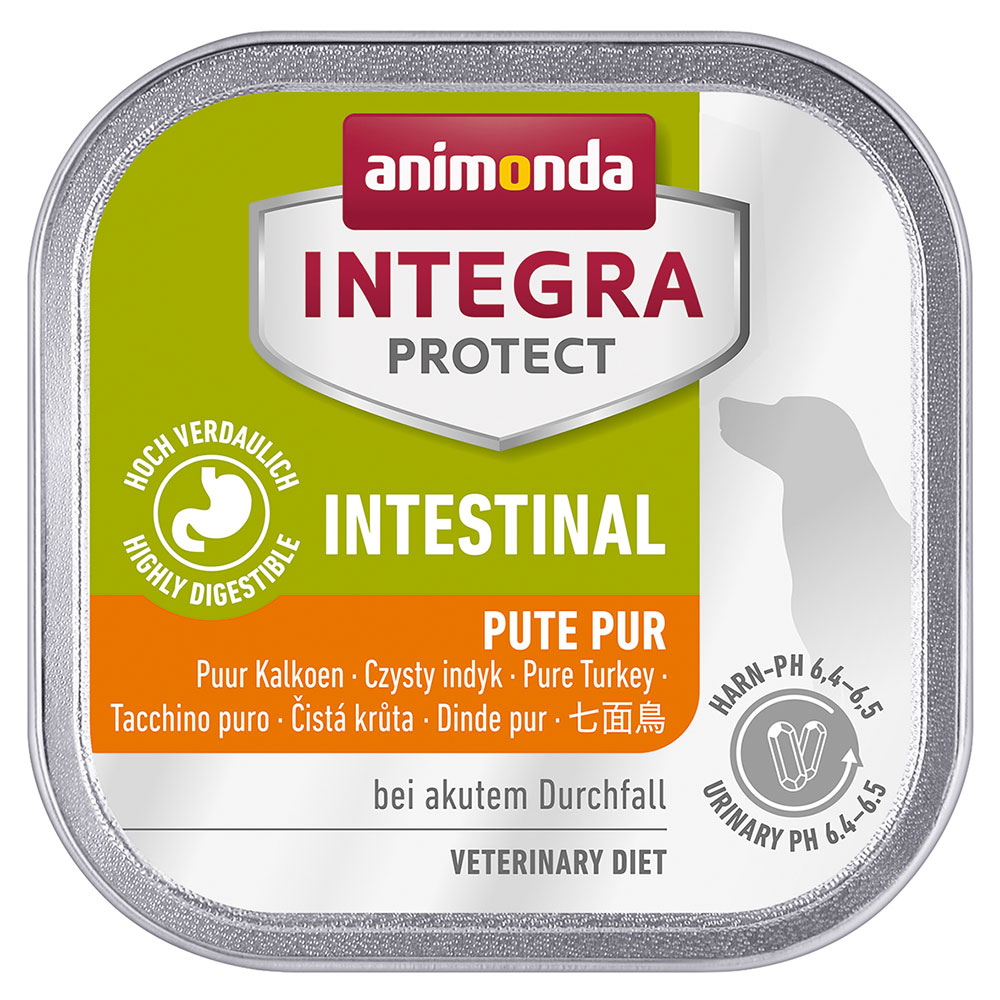 Animonda Integra Protect Intestinal Schale - 12 x 150 g Pute von Animonda Integra