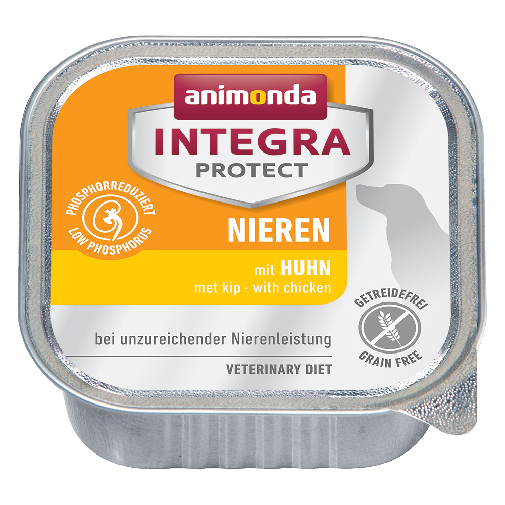 Animonda Integra Protect Niere Schale - 24 x 150 g Huhn von Animonda Integra