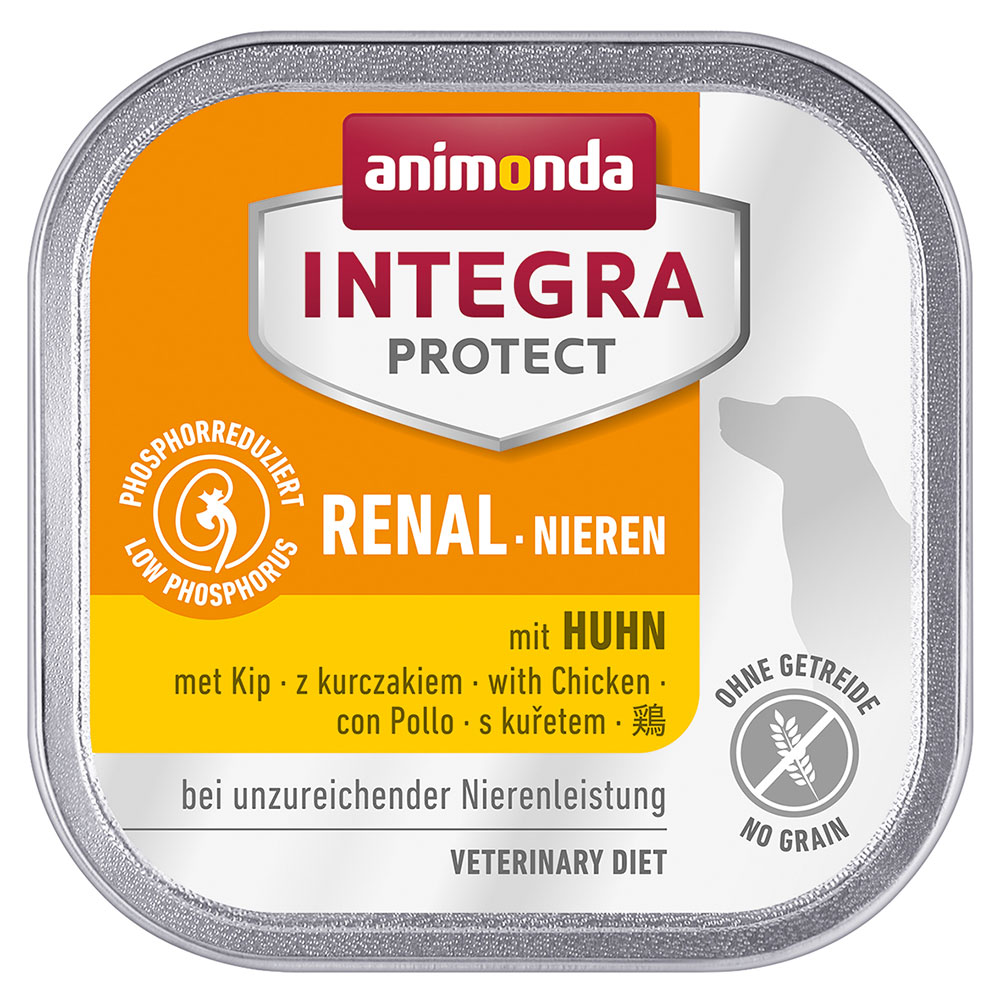 Animonda Integra Protect Niere Schale - 6 x 150 g Huhn von Animonda Integra