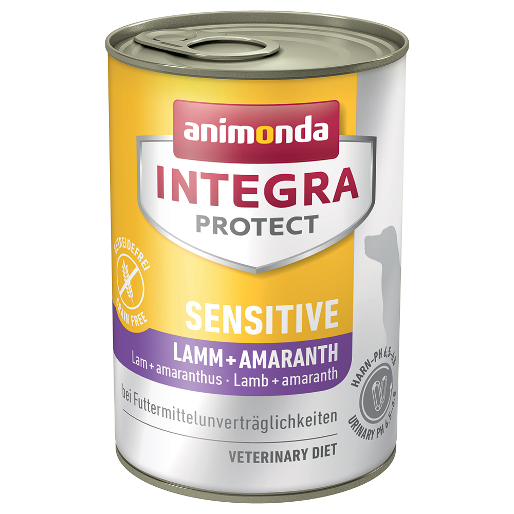 Animonda Integra Protect Sensitive Dose - 6 x 400 g Lamm & Amaranth von Animonda Integra
