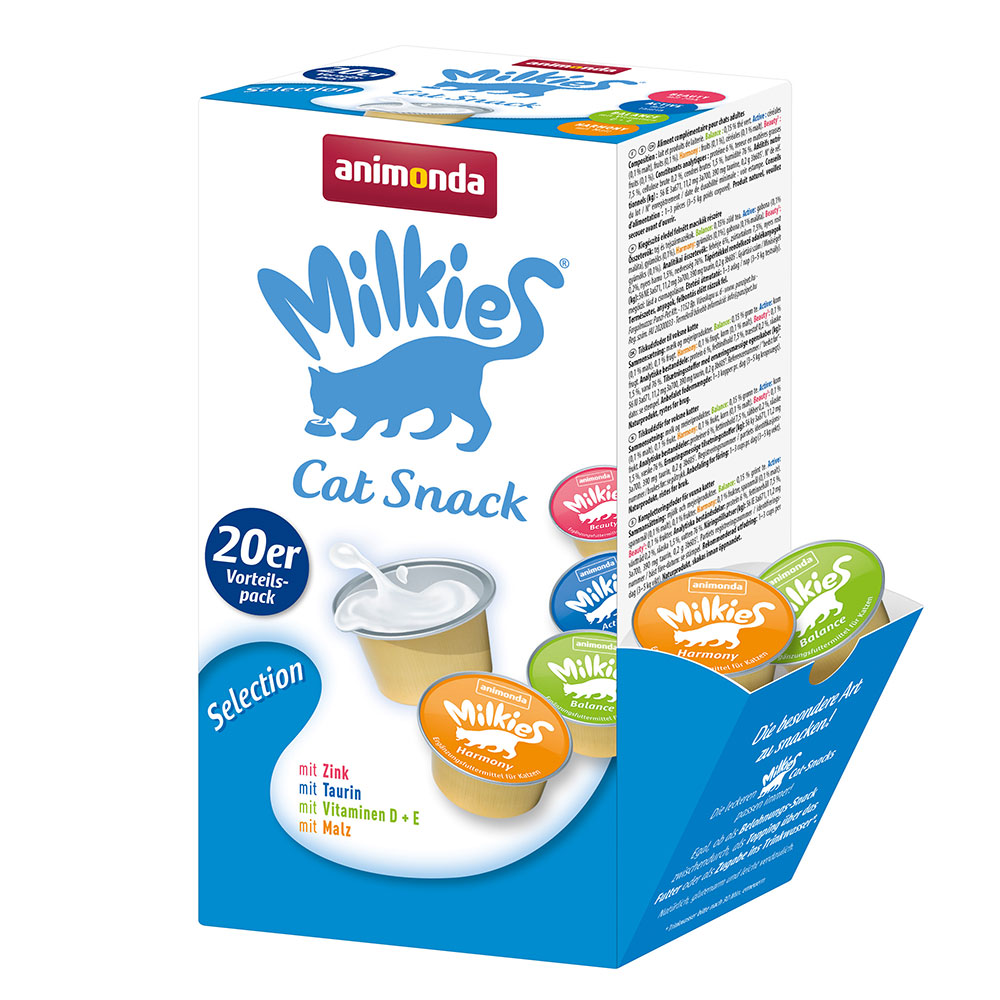 Animonda Milkies Mixpaket - Mix I Selection: 20 x 15 g von Animonda