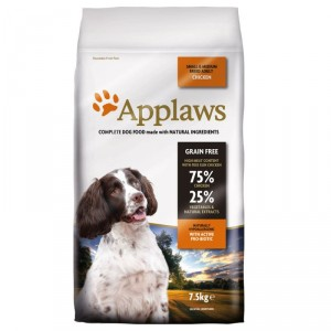Applaws Adult Small & Medium Huhn Hundefutter 7.5 kg von Applaws