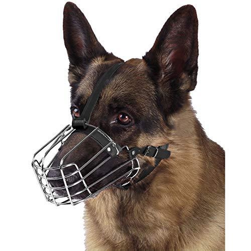 BRONZEDOG Maulkorb für Hunde, mit Drahtkorb, Jack Russell