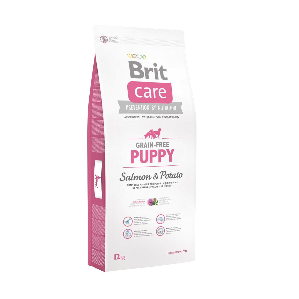 Brit Care Dog Grain-free Puppy Salmon & Potato 2x12kg von Brit