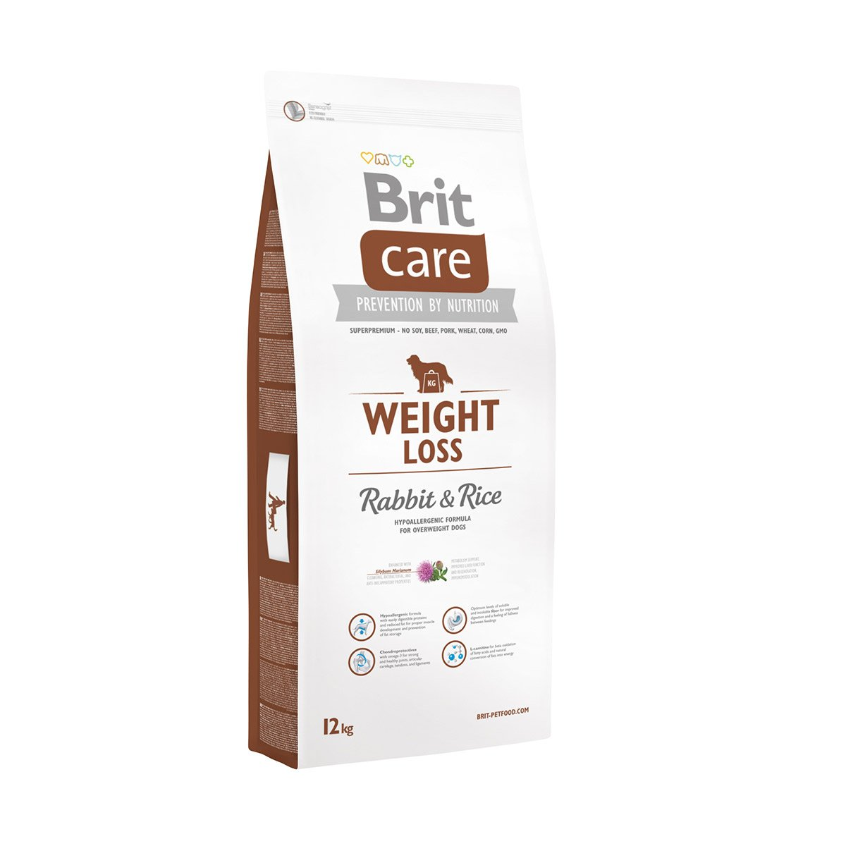Brit Care Dog Weight Loss Rabbit & Rice 2x12kg von Brit