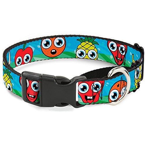 "Buckle-Down Hundehalsband, Cartoon, Martingale, 1.5"" Wide - Fits 13-18"" Neck - Small, Mehrfarbig von Buckle-Down"