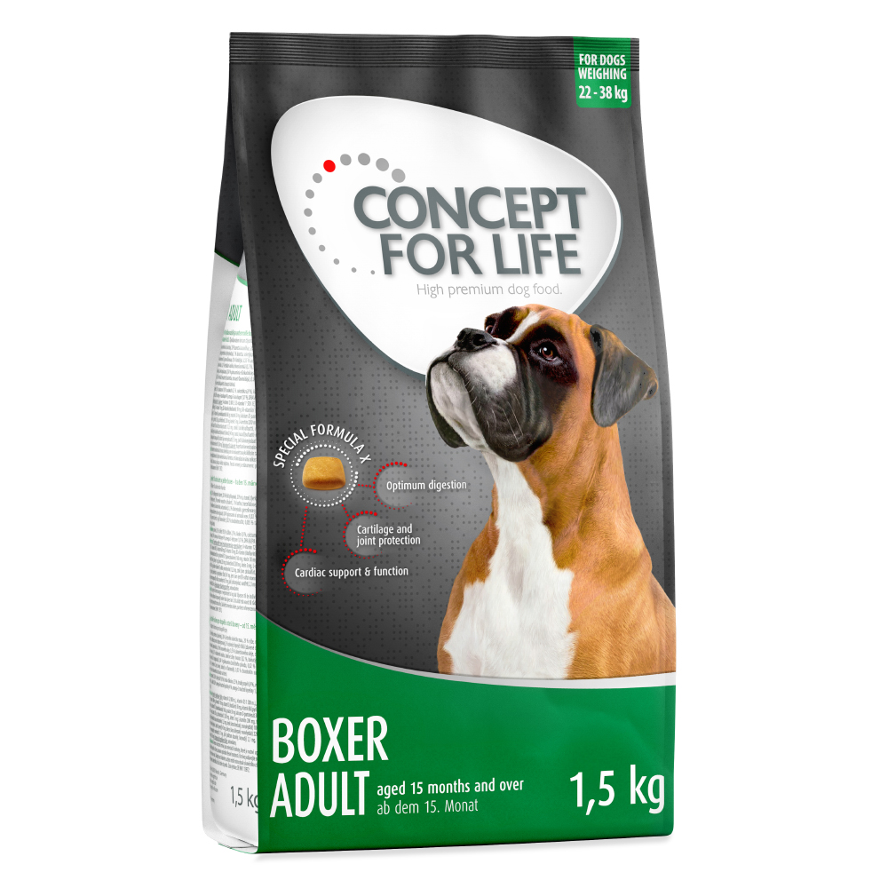 Concept for Life Boxer Adult - 1,5 kg von Concept for Life