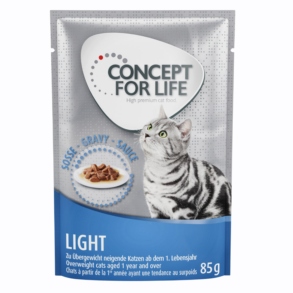Concept for Life Light - in Soße - 12 x 85 g von Concept for Life