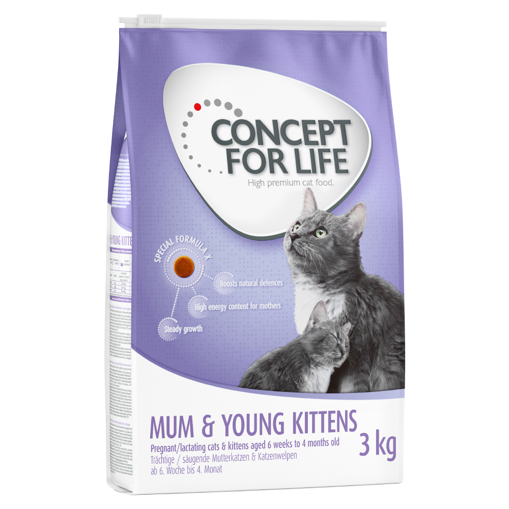 Concept for Life Mum & Young Kittens - 3 kg von Concept for Life