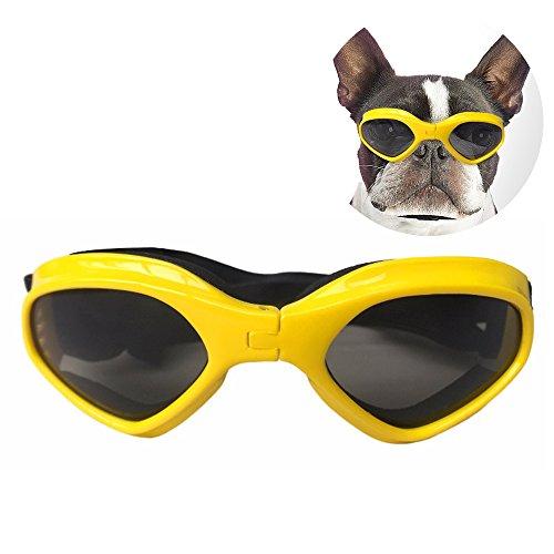 Blue POPETPOP Hunde Sonnenbrillen Hundekatze Brille Pet Eyewear Eyeglass