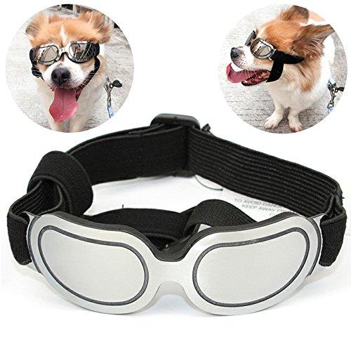 POPETPOP Hunde Sonnenbrillen Hundekatze Brille Pet Eyewear Eyeglass Blue