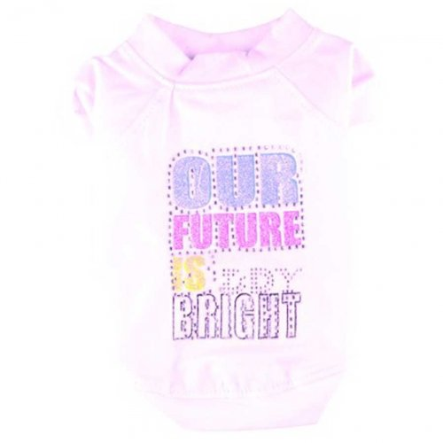 Doggydolly Hundeshirt Future Bright weiß Boy von Doggydolly