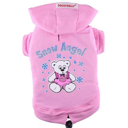 Doggydolly Hundesweater Snow Angel rosa von Doggydolly