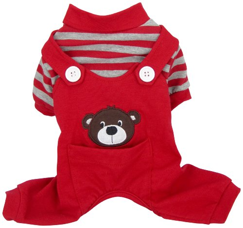 FouFou Dog 60524 Animal PJ Bear Hundepyjama, XS von FouFou Dog
