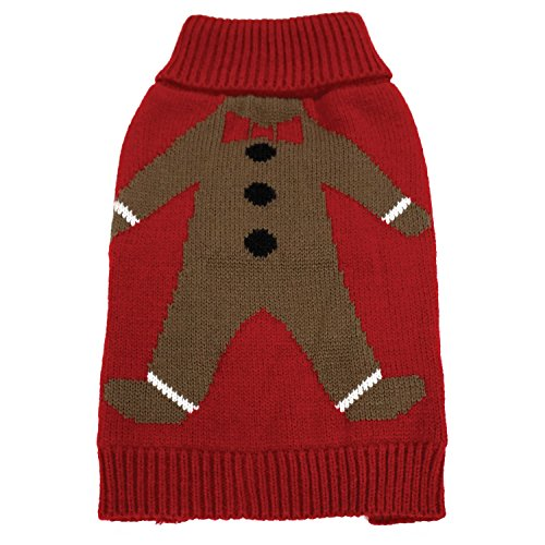 FouFou Dog 62596 gingie Ugly Christmas Sweater für Hunde, XS von FouFou Dog