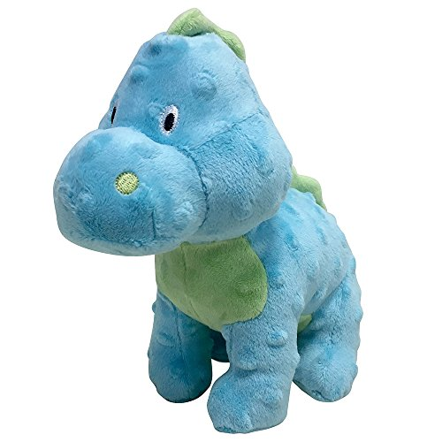 FouFou Dog 85604 Dino Plush Toy Large - Blue Hundespielzeug von FouFou Dog