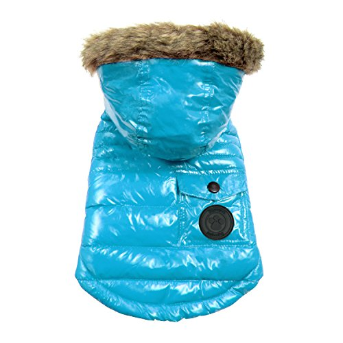 FouFou Dog FFD 61089 2016 Winter Coat Hundemantel, L, Marineblau von FouFou Dog