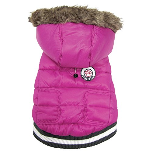 FouFou Dog FFD 62540 Expedition Parka Hundemantel, XXL, rosa von FouFou Dog