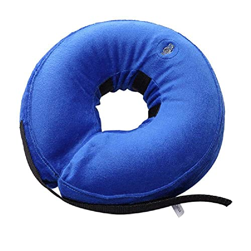 GHKK Hundehalsband Protective Inflatable Puppy Anti-Bite Halskette Katzen Pet Recovery Hals Soft Blowing Ring Pet Produkte von GHKK