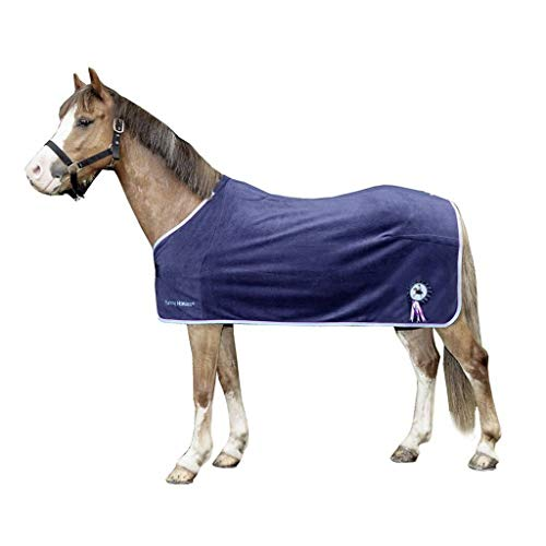HKM 92031127.0011 Abschwitzdecke Funny Horses, lila von HKM