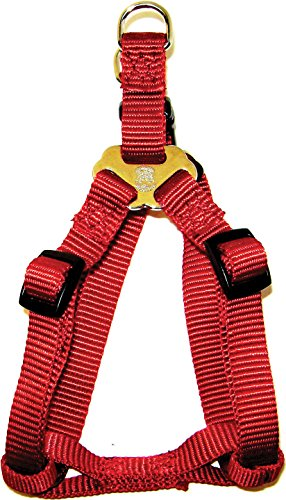 Hamilton Pet Company - Einstellbare Easy On Harness-Red .38 X 10-16 - SHA XSRD von Hamilton