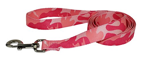 "Hamilton Single Thick Dog Leash, Pink Camouflage, 1"" x 6 ', Pink Camoflage von Hamilton"