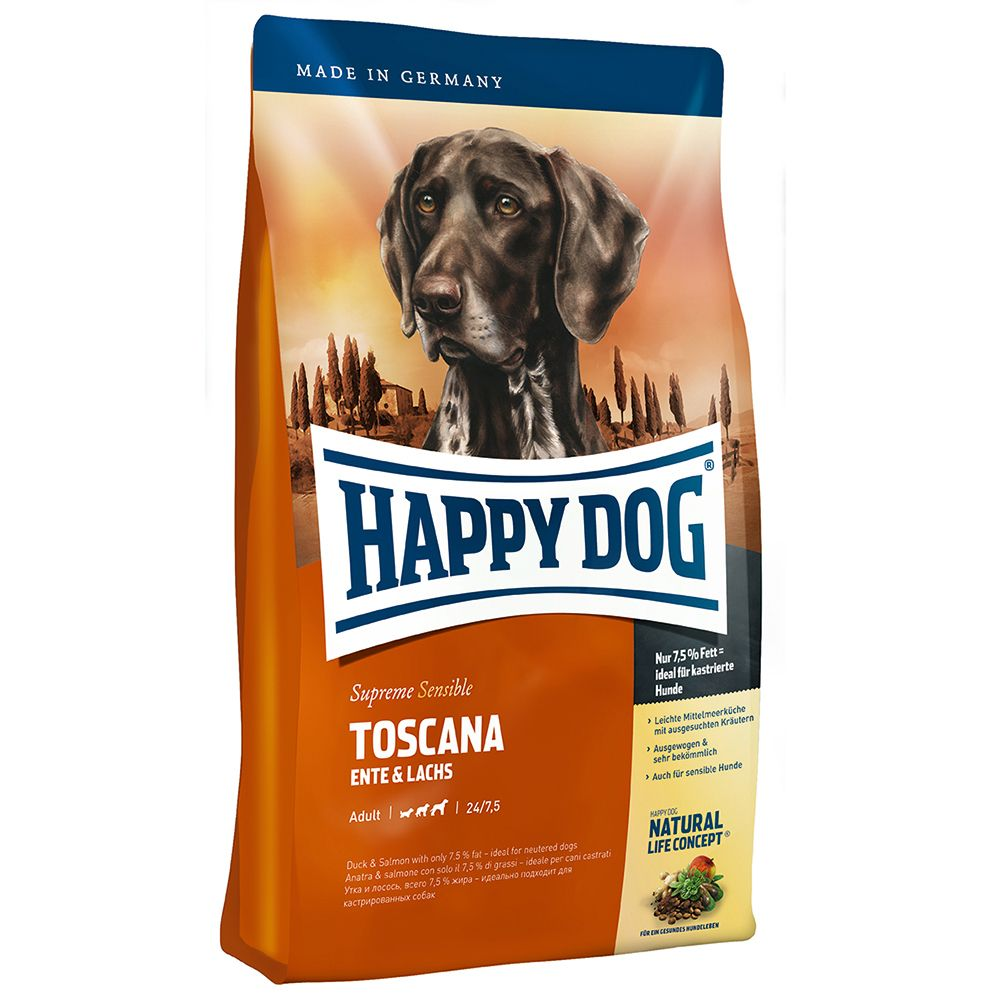 Happy Dog Supreme Sensible Toscana - Sparpaket: 2 x 12,5 kg von Happy Dog Supreme Sensible