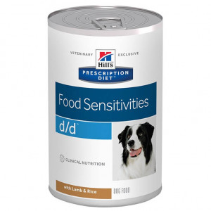 Hill's Prescription Diet D/D Lamm & Reis Dosen Hundefutter Pro 24 Stück von Hill's Prescription Diet