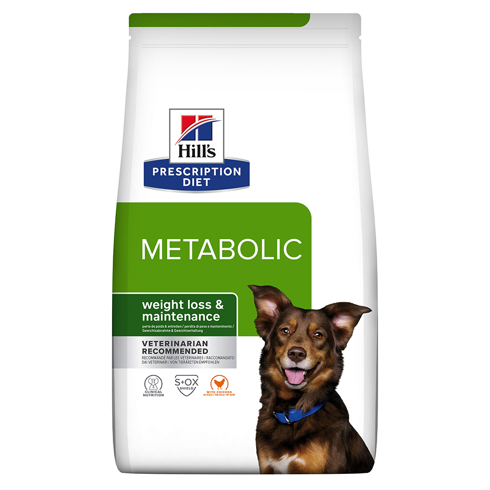 Hill's Prescription Diet Metabolic Weight Management Hundefutter mit Huhn - Sparpaket: 2 x 12 kg von Hill's Prescription Diet