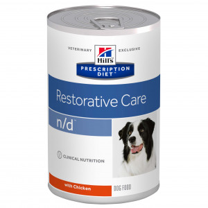 Hill's Prescription Diet N/D 360 g Dosen Hundefutter Pro 12 Stück von Hill's Prescription Diet