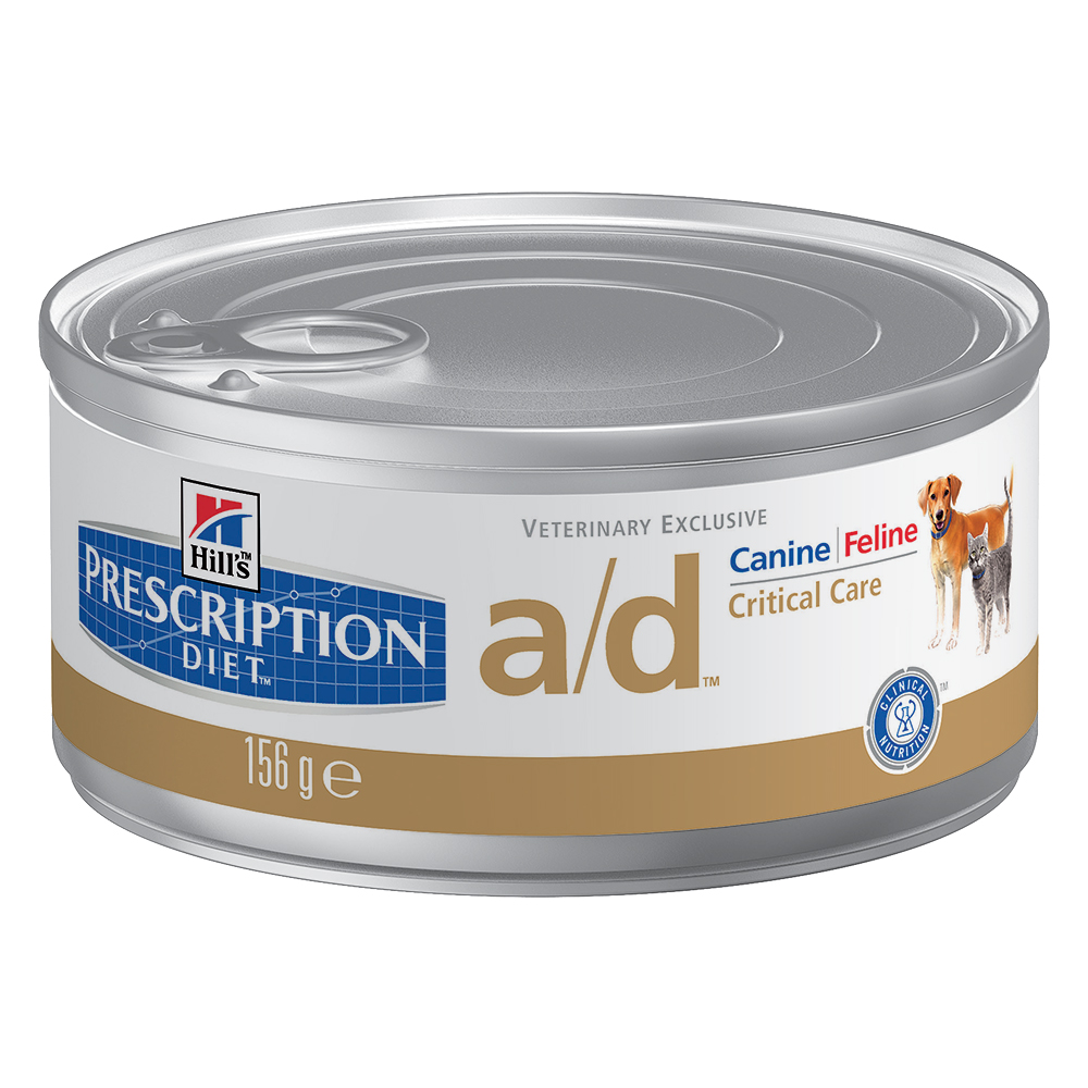 Hill's Prescription Diet a/d Restorative Care Hunde- und Katzenfutter mit Huhn - 24 x 156 g von Hill's Prescription Diet