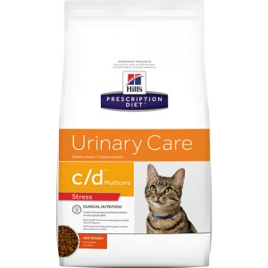 Hill's Prescription Diet c/d Urinary Stress Katzenfutter 8 kg von Hill's Prescription Diet