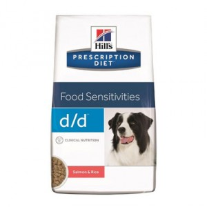 Hill's Prescription Diet d/d Lachs & Reis Hundefutter 5 kg von Hill's Prescription Diet