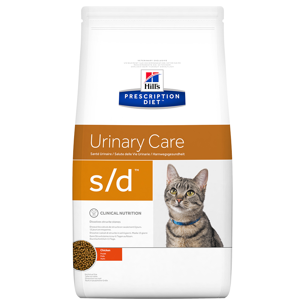 Hill's Prescription Diet s/d Urinary Care Katzenfutter mit Huhn - 1,5 kg von Hill's Prescription Diet