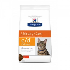 Hills Prescription Diet C/D Multicare Katzenfutter mit Huhn 2x 1,5kg von Hill's Prescription Diet