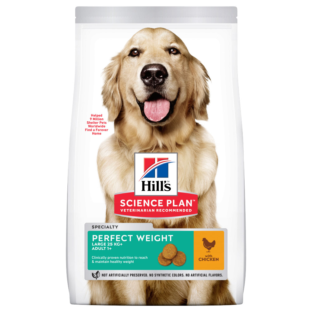 Hill's Science Plan Adult 1+ Perfect Weight Large mit Huhn - Sparpaket: 2 x 12 kg von Hill's Science Plan