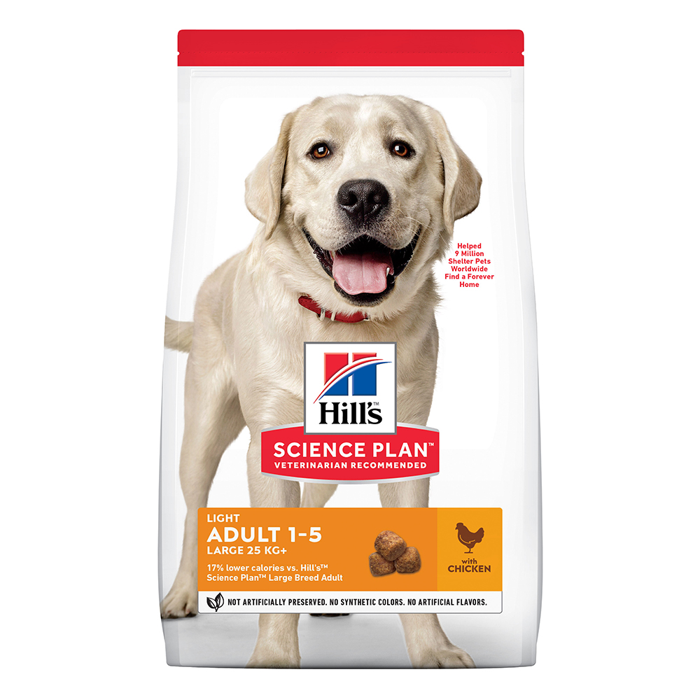 Hill's Science Plan Adult Light Large Breed mit Huhn - 18 kg von Hill's Science Plan