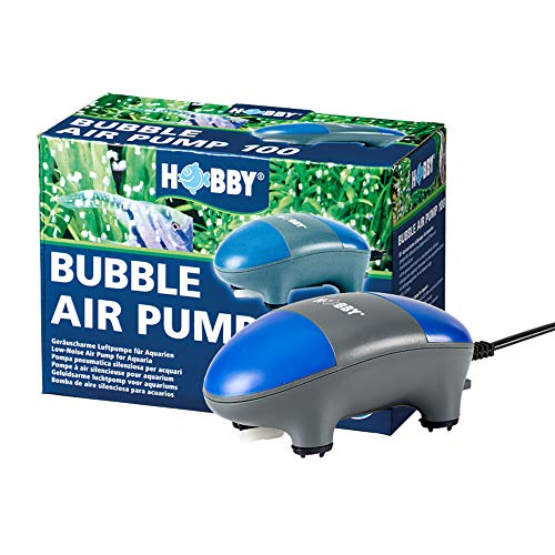 Hobby 00691 Bubble Air Pump 150 / 80 - 150 l, Aquarienluftpumpe von Hobby