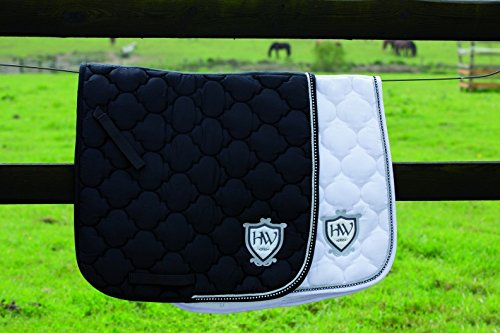 Rambo Diamante General Purpose Saddle Pad Pony/Cob Black Diamante von Horseware