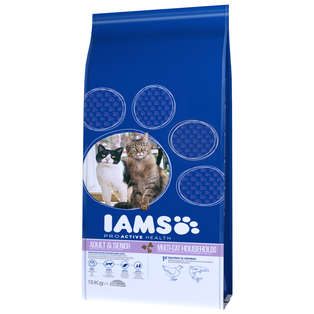 IAMS Pro Active Health Adult Multi-Cat Household - 15 kg von IAMS