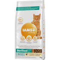 IAMS for Vitality Cat Adult Sterilised Huhn - 3 kg von IAMS