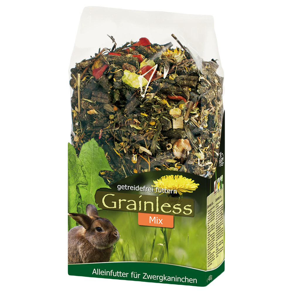 JR Grainless Mix Zwergkaninchen - 2 x 1,7 kg von JR Farm