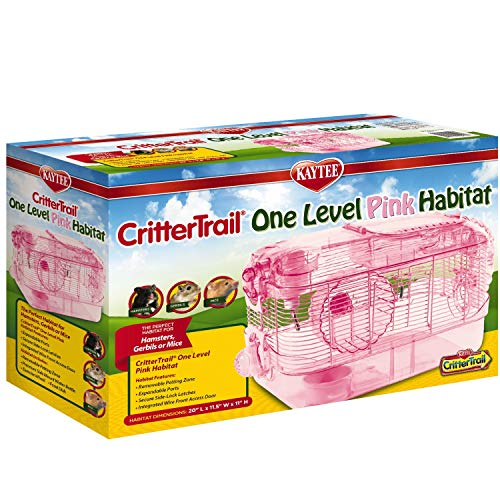 Kaytee CritterTrail One Level Habitat Pink Edition von Kaytee