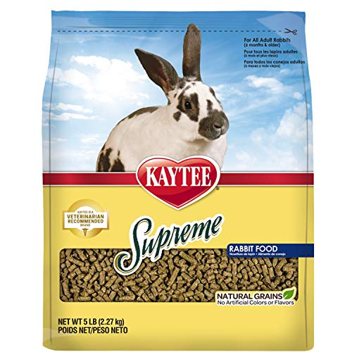 RABBIT PELLETS SUPREME 5# von Kaytee