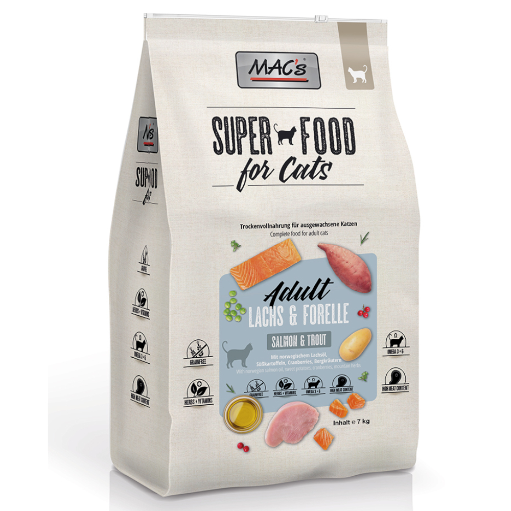 MAC's Cat Adult Lachs & Forelle - 7 kg von MAC's
